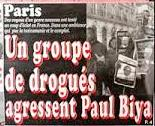 Agression Paul Biya à Paris