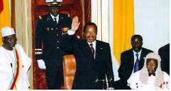 Prestation de serment de Paul Biya du 21 janvier 1984 Source: www.journaldurdpcpdm.cm