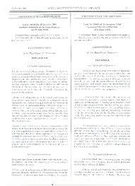 Page de la Constitution du 18 janvier 1996 telle que publiée par le Journal officiel de la République du Cameroun le 30 janvier 1996.