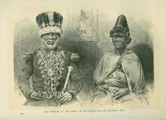 Roi William I de Bimbia et son épouse. © snipview.com