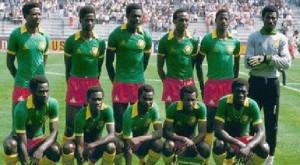 L'équipe nationale de Football du Cameroun en 1984. Copyright: cameroontraveler