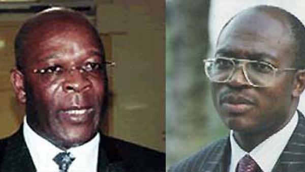 Polycarpe Abah et Urbain Olanguena Awono