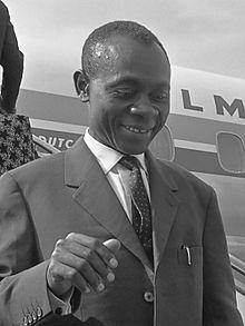 Joh n Ngu Foncha en 1964 © Wikipedia