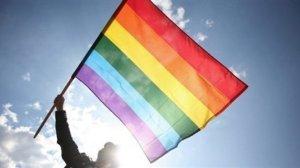 Drapeau arc-en-ciel, symbole du mouvement pour la défense des droits des minorités sexuelles © France24.com