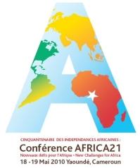 Logo officiel de la Conférence Internationale de Yaoundé Africa 21 © journalDuCameroun.com