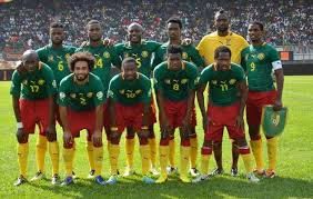 Equipe nationale de football (masculine) du Cameroun en Juin 2014