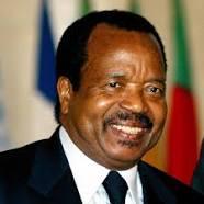 Paul Biya, Président de la République du Cameroun.
